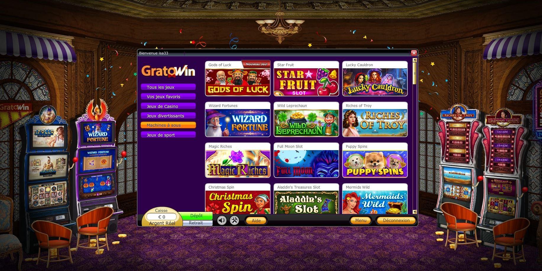 Casino Gratowin